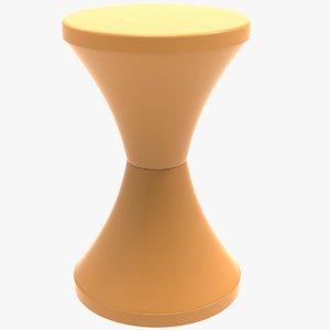 3D stool plastic