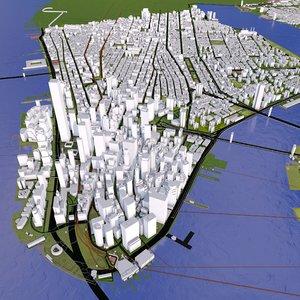new york 1 city model