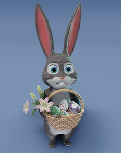 easter bunny animations 3D