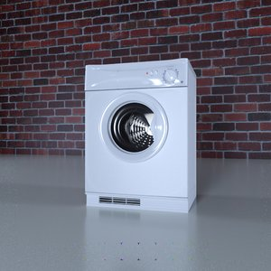 3D gas tumble dryer