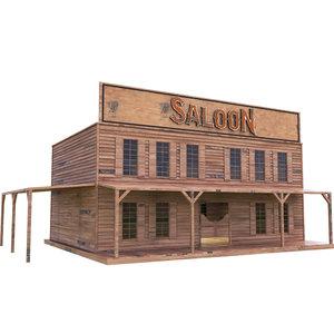 3D saloon western west