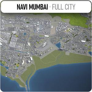 3D navi mumbai surrounding -