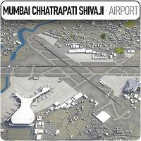 3D chhatrapati shivaji international airport