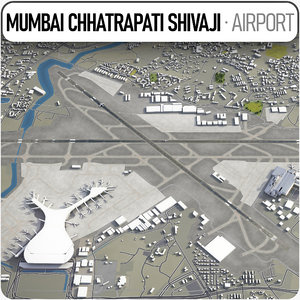 3D chhatrapati shivaji international airport
