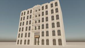 3D classic hotel