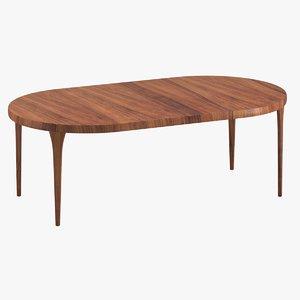 3D table 102 model