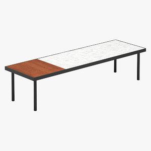 3D table 91 model