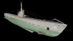s-13 submarine soviet model