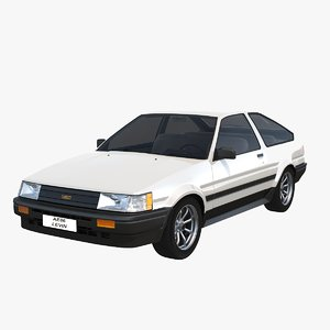 toyota ae86 levin model