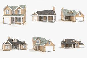 3ds max hi-poly cottages vol 5