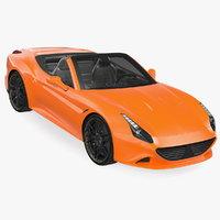 generic sport roadster model