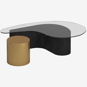 3D table 135 model