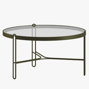 3D model table 138