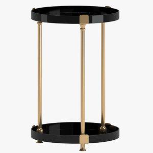 3D table 140 model