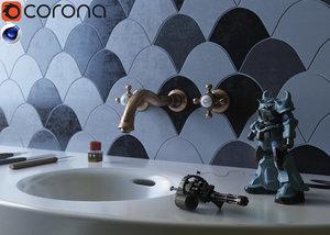 room plastic 3D model
