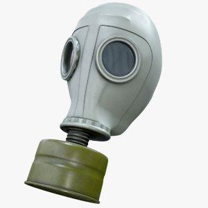 3D gas mask