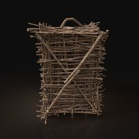 3D animal cage sticks