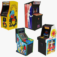 4 retro arcade machine model