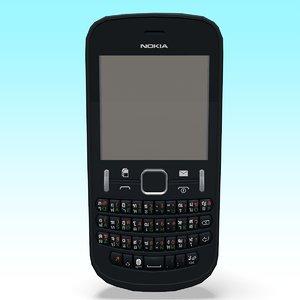3D nokia 200 phone