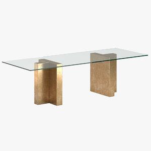 3D talisman table model