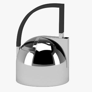 3D teapot 05 model