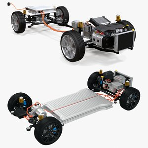 3D electric suspension 4x4 hybrid