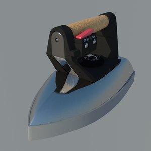 3D model industrial iron