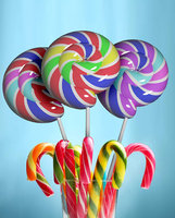 lollipop candy food 3D model