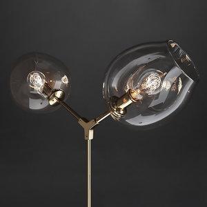 floor lamp branching bubble 3D