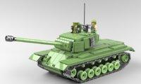 u s m26 lego 3D model