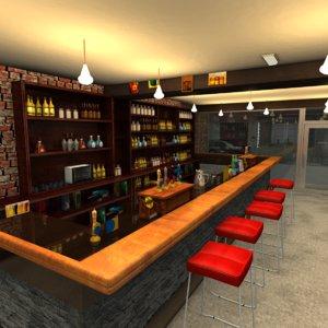 3D bar alley