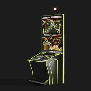 3D casino machines model