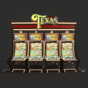 3D casino machines modeled