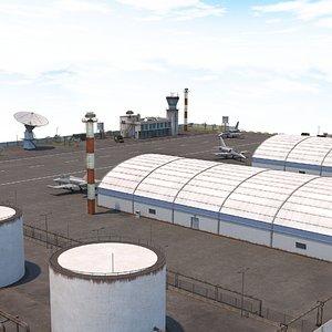 military airport - scene model
