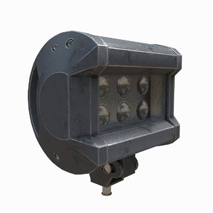 3D led spot light
