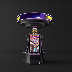 casino machines 3D model