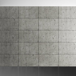 concrete wall model
