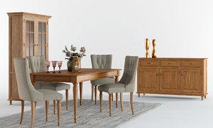 laura ashley aylesbury dining room model