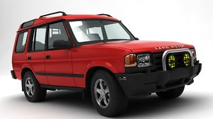 3D model land rover discovery 2
