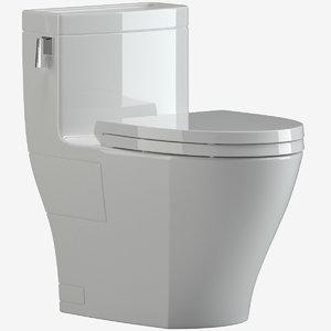3D model toto legato ms624214cefg toilet