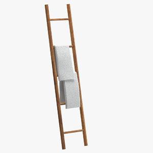 towel ladder 3D model