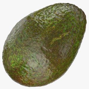 3D avocado 05