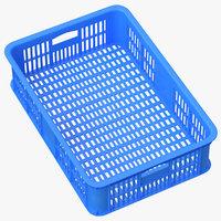 Plastic Crate Blue