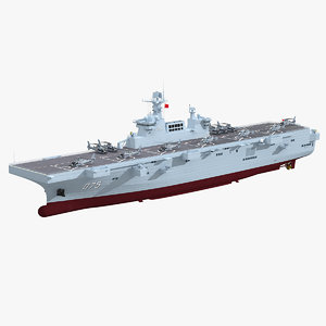 chinese navy type 075 model