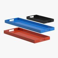 3D tray 06 model