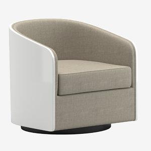 3D usona home coque swivel chair