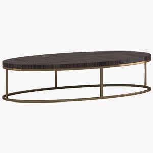 3D model usona coffee table