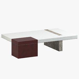 van der straeten coffee table model