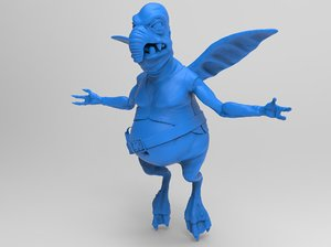 3D sculpts watto star wars model