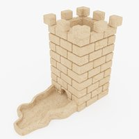 dice tower medieval games model